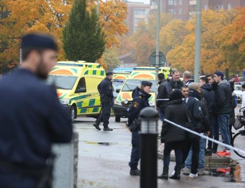 Pressmeddelande om terrorattentatet mot Kronogårdsskolan i Trollhättan